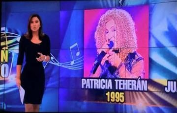 """RCN confunde a Patricia Teherán con su doble de """"Yo me llamo"""""""