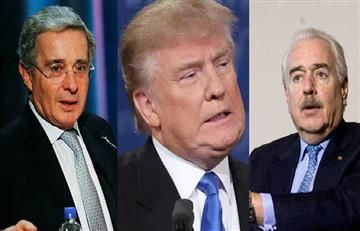 Trump se reunió con Uribe y Pastrana en Estados Unidos