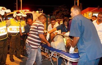 Atentado con granada deja 32 heridos en Valle del Cauca
