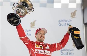 GP de Bahréin: Vettelgana y es único líder