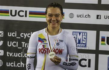 Martha Bayona otorga a Colombia medalla de plata en ciclismo de ruta