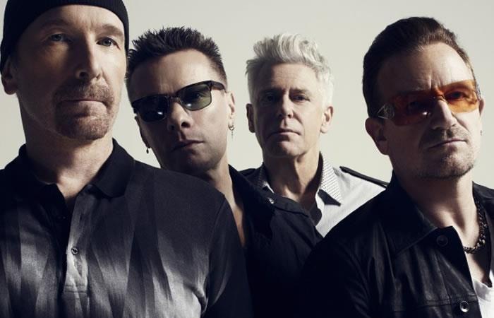 La banda U2 anuncia su visita a Colombia
