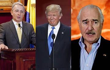 """Trump, Uribe y Pastrana sí sostuvieron una """"breve conversación"""""""