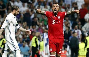 """Arturo Vidal: """"Es muy fuerte que te roben un partido así"""""""