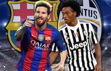 Barcelona vs. Juventus: Transmisión EN VIVO