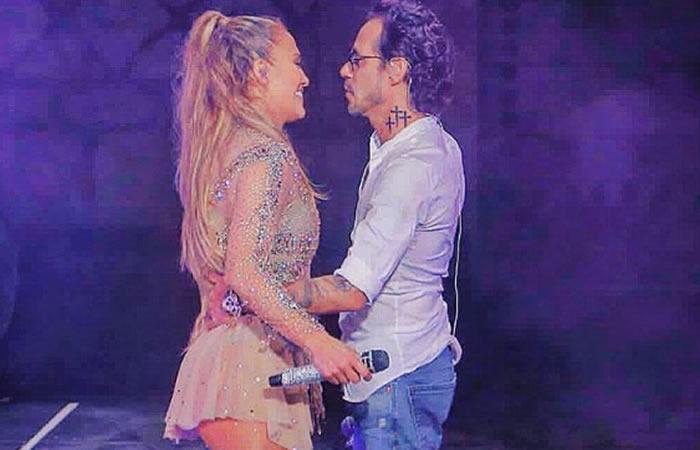 Jennifer López y el candente reencuentro con Marc Anthony en el escenario
