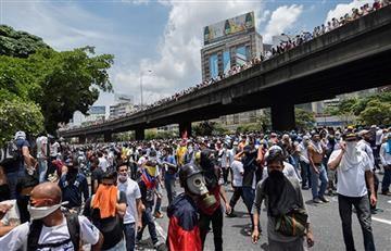 Protestas en Venezuela generan fuertes disturbios