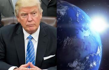 Trump: Astrónomos protestan contra el mandatario desde el espacio