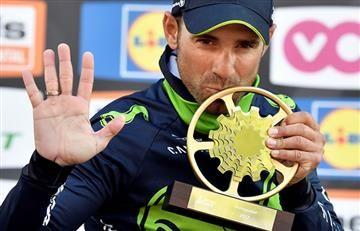 Valverde se lleva la Flecha Valona y Sergio Luis, top 5