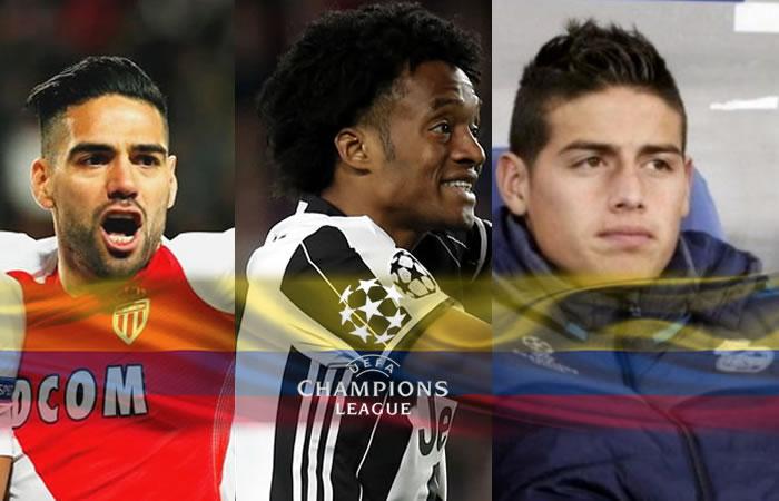 Champions League: Las imágenes que nadie vio de los colombianos