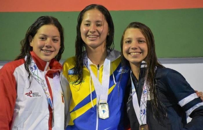 Dos oros para Colombia en los Sudamericanos Juveniles de Natación