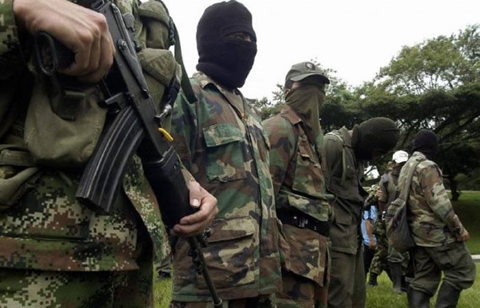 Ejército halló una caleta de las Farc de fusiles y ametralladoras
