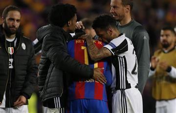 Juan Guillermo Cuadrado y su increíble gesto de humildad con Neymar