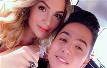 Lina Tejeiro aclara por qué Andy Rivera no publica fotos con ella