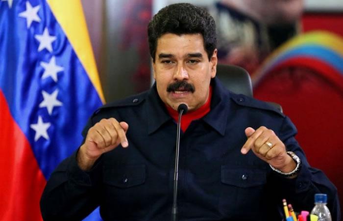Maduro amenaza a Santos con contar