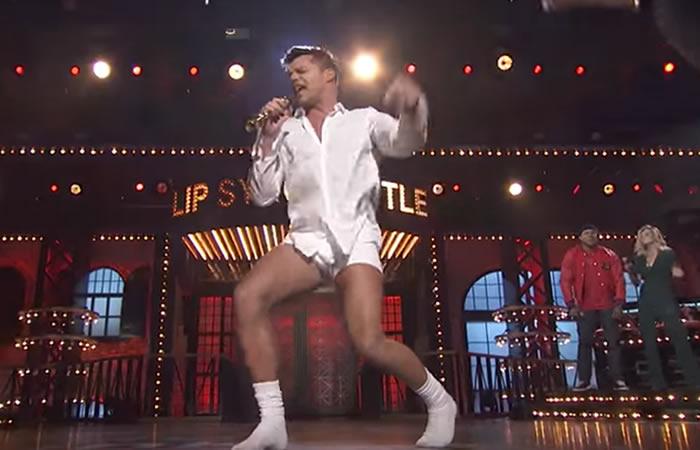 Ricky Martin y su provocador baile en 'ropa interior'
