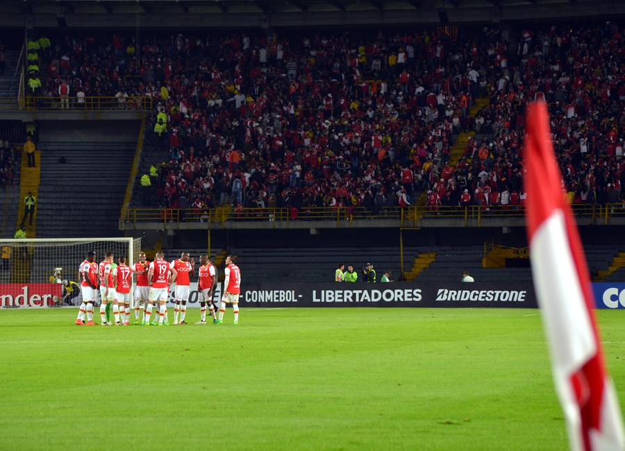 Santa Fe: Lo que nadie vio del empate ante Santos de Brasil