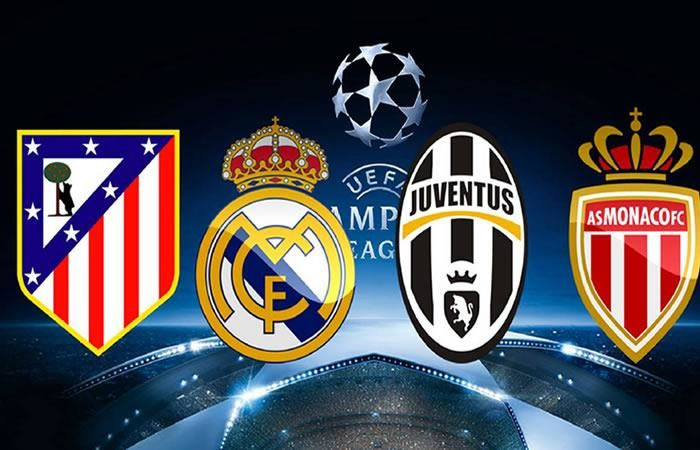 Champions League: Sorteo de semifinales EN VIVO