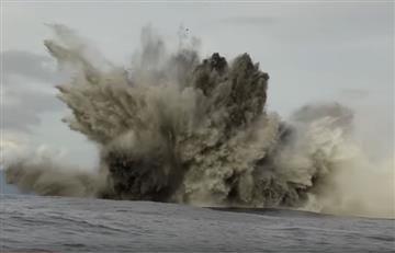 Océano Pacífico: Robots graban tiburones en volcán submarino