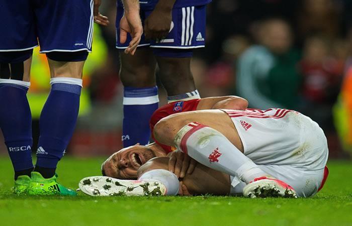 Zlatan Ibrahimovic sufrió 'impactante' lesión