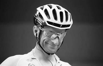 Ciclistas colombianos se despiden de Scarponi con sentidos mensajes