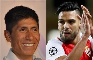 Falcao le responde épicamente a Nairo Quintana