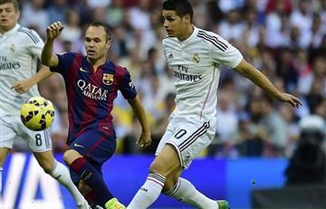 James Rodríguez: ¿Jugará el Clásico ante el Barcelona?