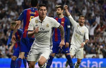 James Rodríguez entró, anotó pero no bastó para salvar al Real Madrid