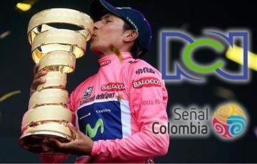 Giro de Italia: RCN le hace competencia a Caracol y el Tour