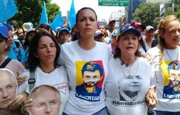 María Corina Machado denuncia orden de aprehensión en su contra