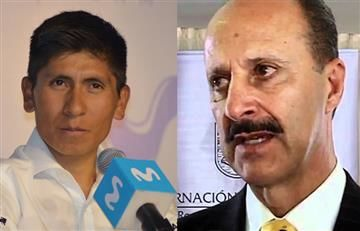 Nairo Quintana: Fedeciclismo lo acusa en audio de pedir favores políticos