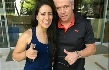 Alias 'Popeye' armó polémica por su foto con Mariana Pajón