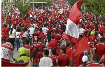 América: 'Barón Rojo' amenaza la seguridad del partido Cortuluá-Nacional