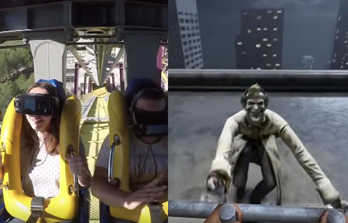 Batman: Parque Warner presenta su montaña rusa con realidad virtual