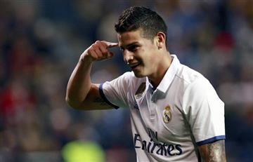 James Rodríguez deja sin excusas a Zidane