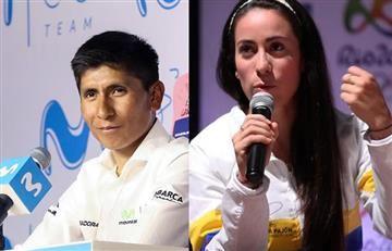 Nairo Quintana se pronunció ante el escándalo de Mariana Pajón