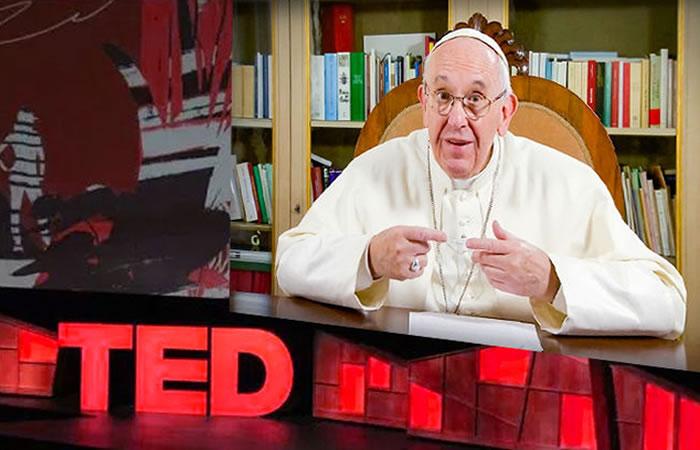 Papa Francisco sorprende con ingenioso Ted Talk
