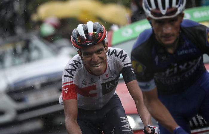 Jarlinson Pantano, octavo en segunda etapa de Tour de Romandía