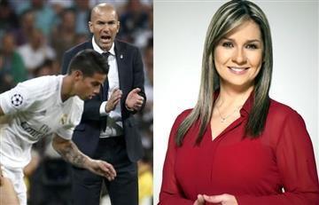 Vicky Dávila es víctima del bullying por su mensaje a James y a Zidane