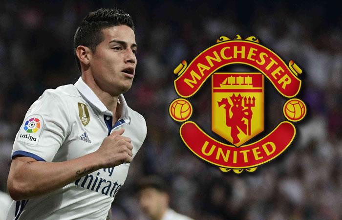 James Rodríguez: Por esta razón podría llegar al Manchester United