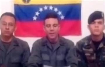 """Militares venezolanos: Llego la hora de """"darle la espalda al tirano"""""""
