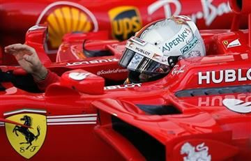 Sebasian Vettel obtuvo la pole position