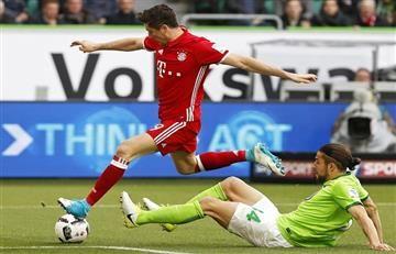 Lewandoswki en lo más alto de la Bundesliga