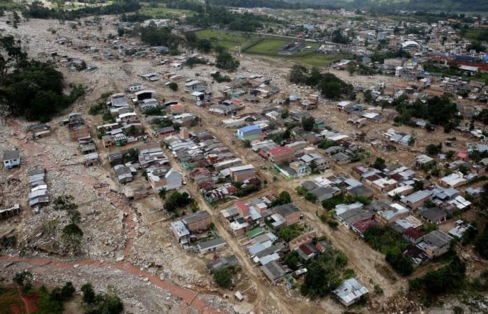 Tragedia de Mocoa. Foto: EFE