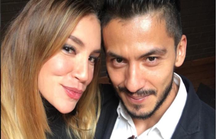 Valentina Lizcano y su novio Ruben Baquero Foto: Instagram