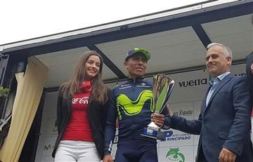 Nairo Quintana, segundo en Asturias y listo para el Giro de Italia