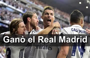 Cristiano Ronaldo anotó hat-trick y humilló al Atlético