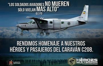 Ejército investiga las causas del accidente de la avioneta en Zipacón
