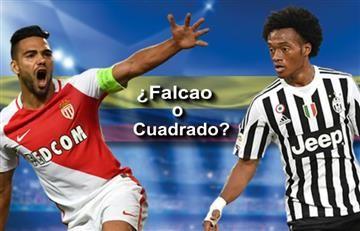 Falcao vs. Cuadrado: ¿Quién quiere que gane en la Champions?