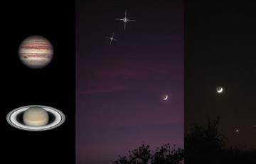 NASA: Fenómenos astronómicos de mayo 2017